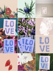Juniper June Arts Instagram feed grid preview.